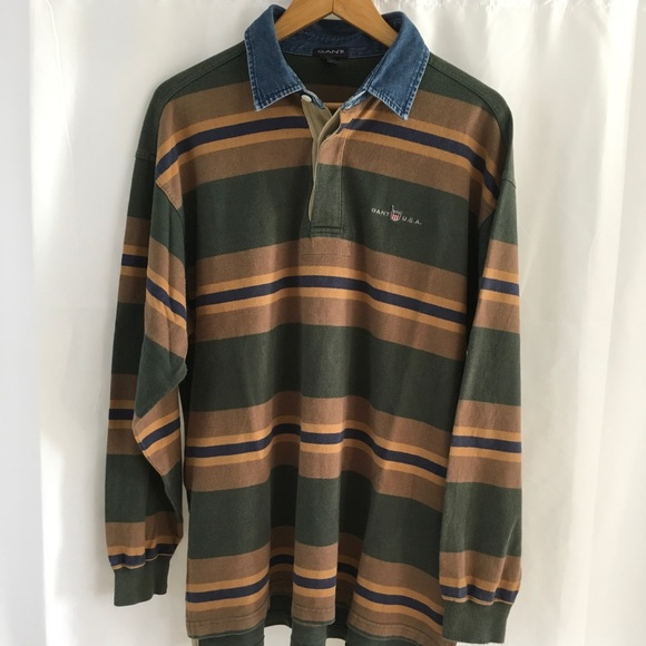 e1249d11bd8 Gant Shirts   Vintage Usa Rugby   Poshmark